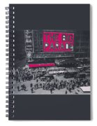 Film Homage John Gilbert King Vidor The Big Parade 1925 Color Added 2010 Spiral Notebook