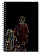 Film Homage John Mills Rocking Horse Winner 1949 Tucson Arizona Circa 1890-2008 Spiral Notebook