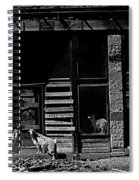 Film Homage King Vidor   Billy The Kid 1930 Wild Goats Ghost Town Billy The Kid Haunt White Oaks Nm  Spiral Notebook