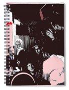 Film Homage Leslie Howard Bette Davis Of Human Bondage 1934 Publicity Photo 2008 Color Added Spiral Notebook