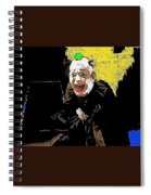 Film Homage Lon Chaney He Who Gets Slapped 1924 Color Added 2008 Spiral Notebook