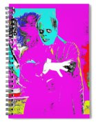 Film Homage Lon Chaney The Phantom Of The Opera 1925 Color Added 2008 Spiral Notebook