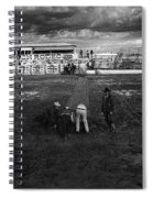 Film Homage Nicholas Ray The Lusty Men 1952 Rko Tucson Rodeo 1983-2008 Spiral Notebook