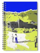Film Homage Old Tucson Arizona In The Mid 1940's Spiral Notebook