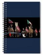 Film Homage Ride Vaquero 1953  2 Hispanic Riders  Rodeo Parade Tucson  Az 2002-2008 Spiral Notebook