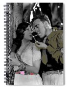 Film Homage Sadie Thompson 1 Gloria Swanson And Raoul Walsh 1927-2014 Spiral Notebook