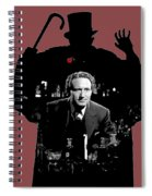 Film Homage Spencer Tracy Dr. Jekyll And Mr. Hyde 1941-2014 Spiral Notebook