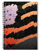 Film Homage The Manchurian Candidate 1962 Flag Car Window Sacaton Arizona 2005 Spiral Notebook