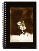 Film Homage Tod Browning Freaks 1932 Child With Doll The Devil Doll 1936 1890's-2008 Spiral Notebook