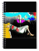 Film Homage Tor Johnson Ed Wood Plan Nine From Outer Space 1959 Publicity Photo Color Added 2012 Spiral Notebook