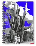 Film Homage Victor Fleming Jean Harlow Bombshell 1933 Saguaro Nat'l Monument Tucson 2008 Spiral Notebook