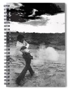 Film Noir Born To Kill 1947 2 Mike Bowan Fast Draw Artist Tucson Arizona 1974 Black And White Spiral Notebook