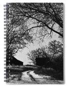 Film Noir Burt Lancaster Robert Siodmak The Killers 1946 Farm House Near Aberdeen Sd 1965 Spiral Notebook