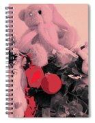 Film Noir Deanna Durbin Christmas Holiday 1944 Xmas Decorations Casa Grande Arizona 2005  Spiral Notebook