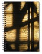 Film Noir Dick Powell Edward Dmytryk Cornered 1945 Building Interior Shadows Coolidge Arizona  2004 Spiral Notebook