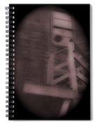 Film Noir Humphrey Bogart Lauren Bacall Dark Passage 1947 Elk's Club Aberdeen Sd 1966-2013 Spiral Notebook