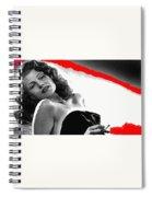 Film Noir Jean Louis Rita Hayworth Gilda 1946 Color Added 2012 Spiral Notebook
