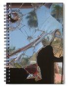 Film Noir Jim Thompson The Grifters 1990 Palm Trees Shattered Glass Casa Grande Arizona 2004 Spiral Notebook