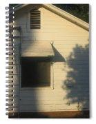 Film Noir John Garfield Lana Turner The Postman Always Rings Twice Ladder House Black Canyon Az Spiral Notebook