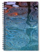 Film Noir Lawrence Kasden Kathleen Turner Mickey Rourke Body Heat Pool Water Casa Grande Arizona '04 Spiral Notebook
