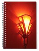 Film Noir Raymond Burr Robert Aldrich Red Light 1949 Art Deco Light Fox Tucson Theater 2006 Spiral Notebook