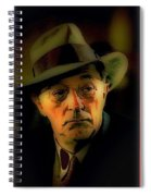 Film Noir Robert Mitchum Philip Marlowe Farewell My Lovely 1975 Publicity Photo Color Added 2013 Spiral Notebook