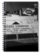 Film Noir Robert Mitchum Where Danger Lives 1950 1 Border Town Nogales Sonora Mexico Spiral Notebook