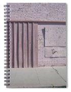 Film Noir Sean Young Kevin Kostner No Way Out 1987 Boarded Wall Eloy Arizona 2004 Spiral Notebook