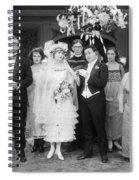 Film Still: By Golly, 1920 Spiral Notebook
