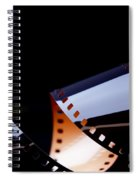 Film Strip Abstract Spiral Notebook