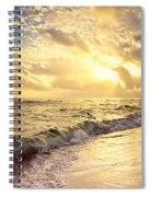 Final Curtain Spiral Notebook