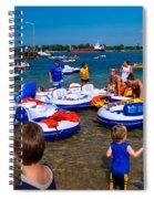 Final Landing Spiral Notebook