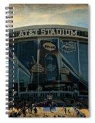 Finals Madness 2014 At Att Stadium Spiral Notebook