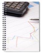 Finance Growth Spiral Notebook