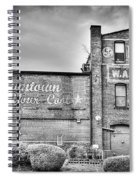 Find Your Coal In Black And White Spiral Notebook