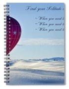Find Your Solitude Spiral Notebook