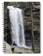 Finding Love Spiral Notebook