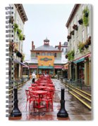 Findlay Market In Cincinnati 0003 Spiral Notebook