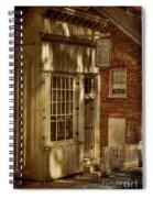 Fine Repairs Spiral Notebook