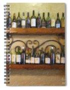 Fine Wine Spiral Notebook