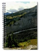 Finger Of Nisqualy Spiral Notebook