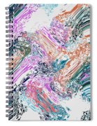 Finger Paint Spiral Notebook