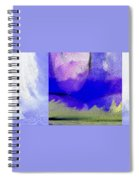 Finger Painting By The Hand Of God 2 Spiral Notebook