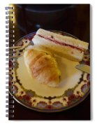 Finger Sandwiches For Traditional Afternoon Tea Spiral Notebook