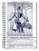 Finsen Apparatus, C1905 Spiral Notebook