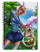 Fionna And Cake Spiral Notebook