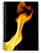 Fire 002 Spiral Notebook