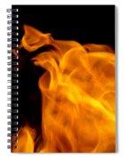 Fire 006 Spiral Notebook