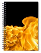 Fire 016 Spiral Notebook