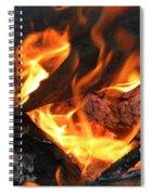 Fire 1 Spiral Notebook